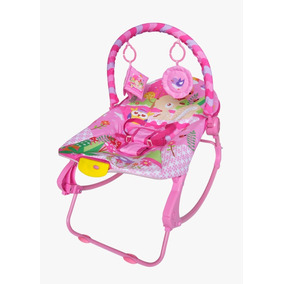 Cadeira Bebê Descanso Vibratória Balanço Musical 18kg Rocker