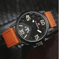Reloj Naviforce / Semicasual Hombre/cuero Acero/ Garantia!