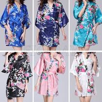 Kimono Japones Floral Robe Cetim Pavao Nouvelle Passion 337
