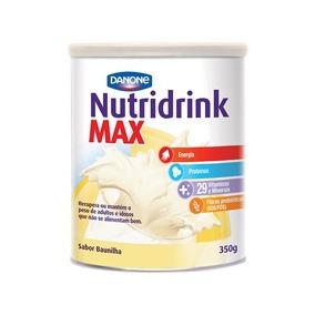 Suplemento Nutricional Nutridrink Max Sabor Baunilha 350g