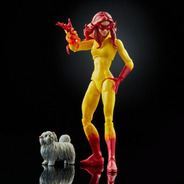 Boneca Marvel Legends Firestar