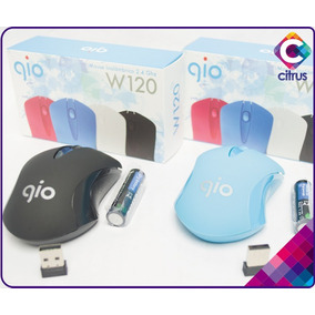 Mouse Inalambrico 2.4ghz W120 Gio Bateria Aaa