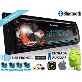 Auto Radio Pioneer Mvhx 588bt Usb Bluetooth Mp3 Promoção