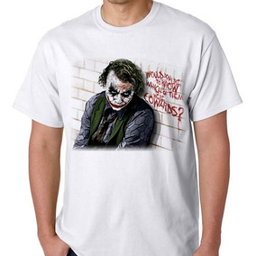 Terno Do Coringa Feminino - Camisetas Manga Curta para Masculino no ... 567ad34df19