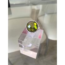 Anillo De Plata 925 Y Cristal Swarovski Elements