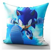 Almofada Sonic Corrida Em Microfibra Premium