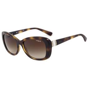 Vogue Vo 2943 Sb - Óculos De Sol W656/13 Marrom Mesclado