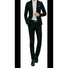 Terno Smoking Slim Fit Corte Italiano (blazer+calça+colete)