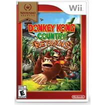 Donkey Kong Country Returns - Wii Mídia Físca Novo Lacrado