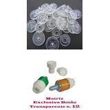 Matriz E Botao Pressao Plastico Ritas Transparente N.12.