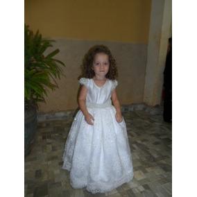 Vestido Daminha Luxo