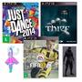 Combo Em Mídia Física Fifa 17 + Just Dance 2014 + Thief Ps3