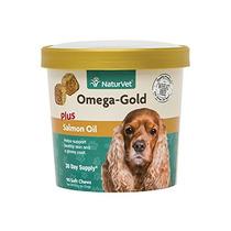 El Aceite De Salmón Para Perros, 90 Naturvet Omega-gold Plu