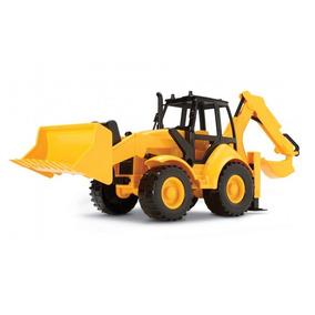 Trator Retro Escavadeira - Silmar - 6810 Wl-1200 Constructio