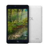 Tablet Dl Futura T8, Tela 7, 8gb, Câmera, Wi-fi, Android 7.1