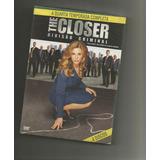 The Closer - Divisão Criminal 4º Temporada - 4 Dvds Lacrado