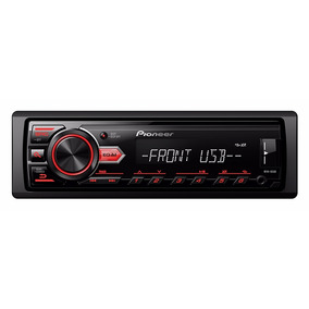 Stereo Pioneer Mvh85 Ub Usb Mp3 Auxiliar Am Fm Desmontable