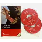 Libro Oliver Twist. Charles Dickens. Macmillan + 2cd