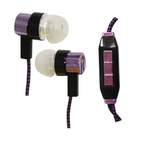 Audifonos Manos Libres Colores 3.5mm Tela Agujeta Reforzados