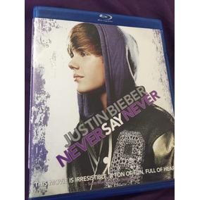 Justin Bieber Never Say Never Bluray Perfecto Estado