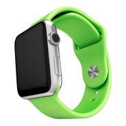 10 Pulseras Silicona Compatible Con Apple Watch Medida 38/40