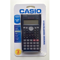 Calculadora Casio Fx82 Ms Original 3 Anos Garantia
