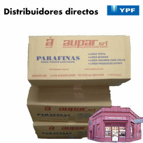 Parafina Ypf P/ Velas X Caja 25 Kg. Mercadoenvios-mercadopag