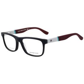 Tommy Hilfiger Th 1282 - Óculos De Grau K6o Azul E Vinho