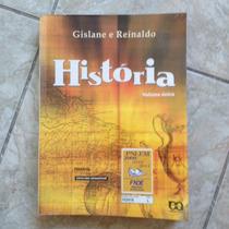 Livro História Volume Único Gislane E Reinaldo 2009 2010 11