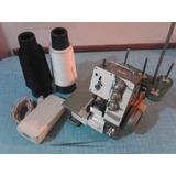 Maquina De Coser Minioverlock Artisan Fn2 + Pinza + 2 Hilos