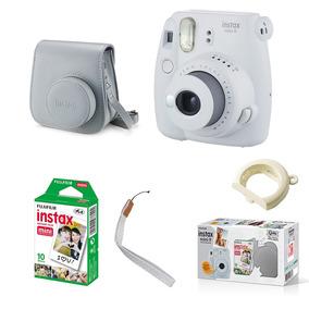 Kit Câmera Fujifilm Instax Mini 9 C/ Bolsa E Filme 10 Poses