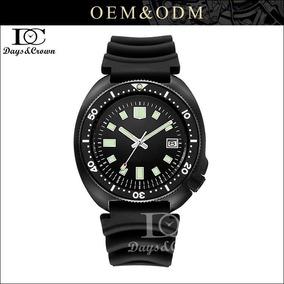 Relógio Turtle 61058110 Custom Mergulho200m Automatico Seiko