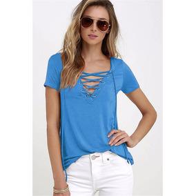 Blusa Feminina Moda Verão Varias Cores#16002