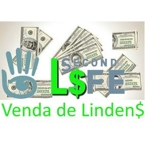 2000 Lindens Para Secondlife - 35 Reais, 24 Hs Online!