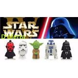 Memoria Usb 16 Gb Star Wars Darth Vader Yoda R2-d2 Storm