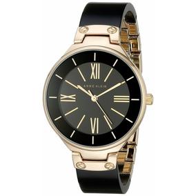Reloj Anne Klein Dama Ak1958bkgb Negro/dorado 100% Original*