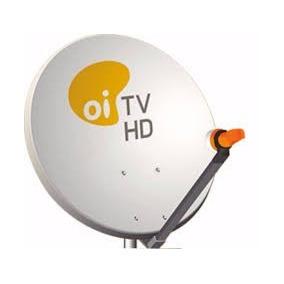 5 Antena Oi Tv + 5 Lnb Simples + 100mcabo + Fixa Fio + Frete