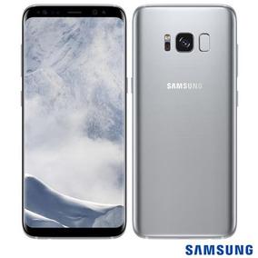 Samsung Galaxy S8 Prata Tela 5,8 4g 64 Gb 12 Mp Sm-g950