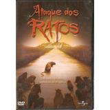 Dvd Ataque Dos Ratos - Novo***