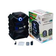 Caixa De Som Bluetooth 8  Usb P2 C/ Controle 20w C/ Alça