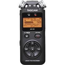 Gravador De Áudio Tascam Dr-05 - Produto Oficial