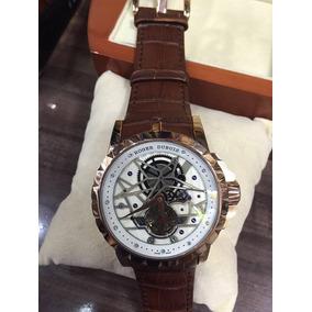 Relógio Roger Dubuis - 1 Ano De Garantia - Frete Grátis