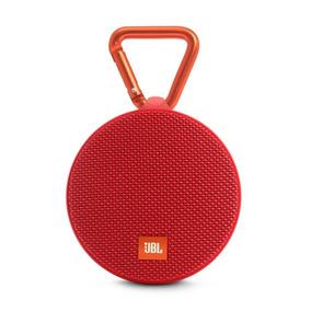 Caixa De Som Portátil Jbl Clip 2 Bluetooth Vermelho