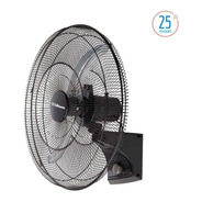 Ventilador De Pared Industrial Liliana 25 2 Aspas Vw25m 120w