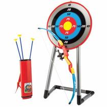 Arqueria Infantil Arco Apuntador Laser 3 Flechas Estuche