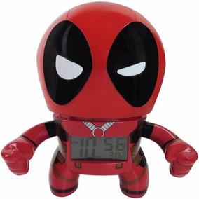 Bulb Botz De Lego Marvel Deadpool Despertador 19cm Diego Vez