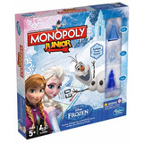Monopoly Junior Frozen Juego D Mesa Original Hasbro Educando