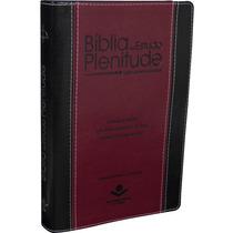 Bíblia De Estudo Plenitude Luxo Com Índice