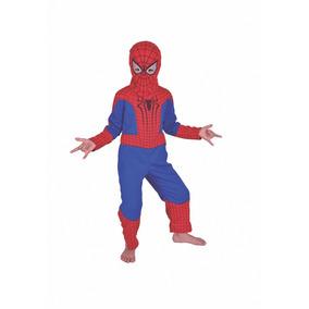 Disfraz Spiderman Hombre Araña Con Luz Original New Toys