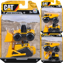 Maquinas Pack Caterpillar Kit X 6 Original Blister Coleccion